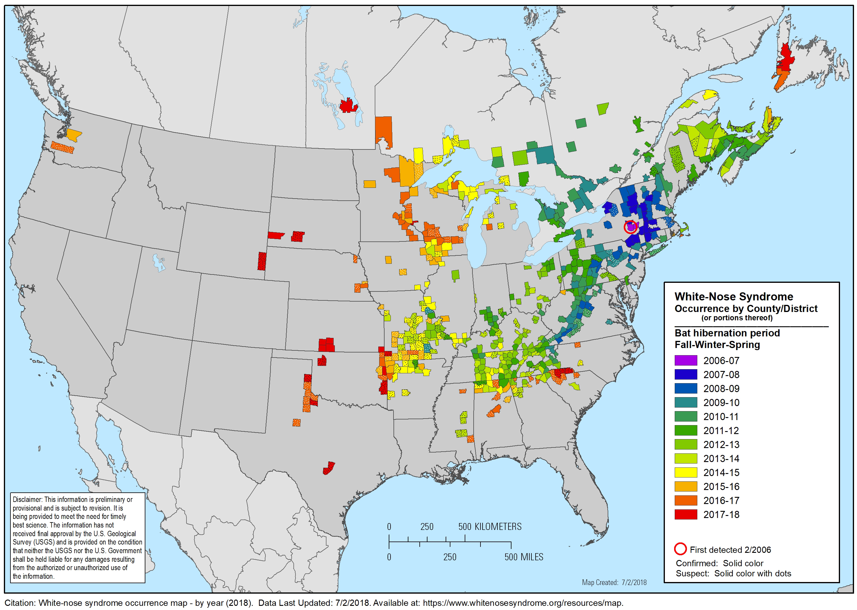 White Nose Syndrome Page